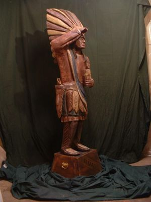 cigar store indian wo